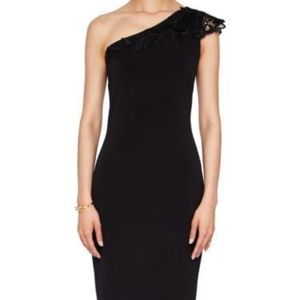 TED BAKER London Jalis Lace One-Shoulder Dress
